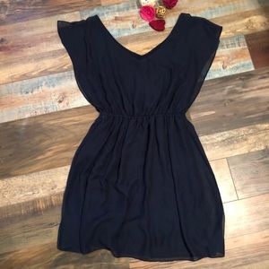 Gianni bini navy blue dress M